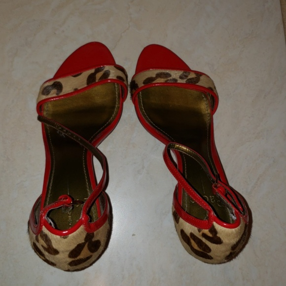 Paolo Shoes - Red Heels